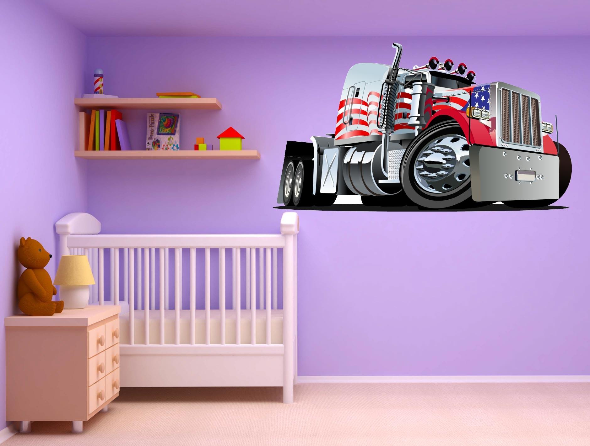 Stickers bébé : Une chambre décorée ?
